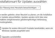 Photo of Installation für Updates einstellen bei Windows 10