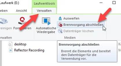 cd brennen - Daten Brennen auf eine CD/DVD mit Windows 10