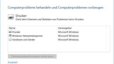 Photo of Druckerprobleme beheben bei Windows 10