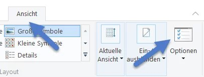 Zuletzt verwendeten Dateien angezeigt