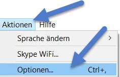 aktion option