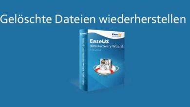 Photo of EaseUS Data Recovery Wizard ausprobiert 10.5 + 5 Lizenzen zu gewinnen