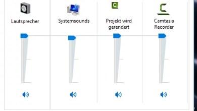 Windows 10 Lautstärke Anzeige wie unter Windows 7 0