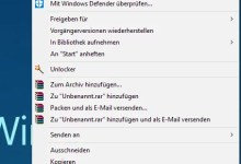 Photo of Windows 10 Kontextmenü wie in Windows 7 Anzeigen lassen