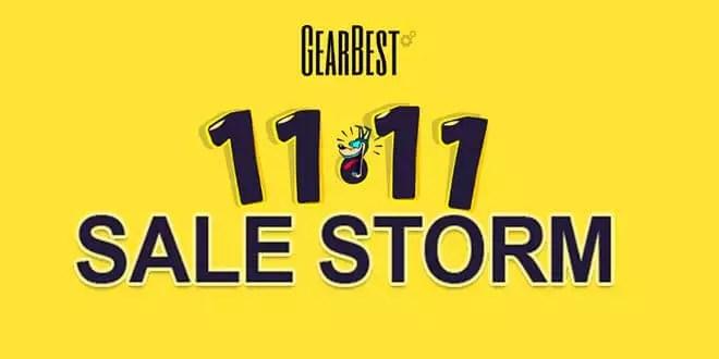 11.11 Sales Storm bei GearBest mit Mega Angebote 0