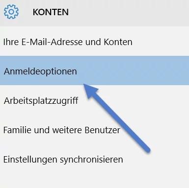 Windows 10: PIN zum entsperren des Computers einrichten