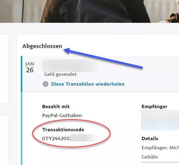 PayPal Transaktionscode Transaktionsnummer finden – so geht's 0