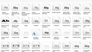 Photo of Windows 10 Standard Schriftart ändern.