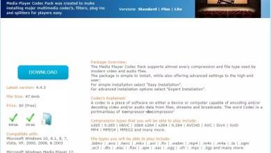 Photo of Windows Mediaplayer Codec Pack