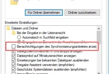 Photo of Werbung im Windows Explorer deaktivieren