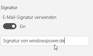Windows 10 Mail: Signatur einrichten – So geht's 3