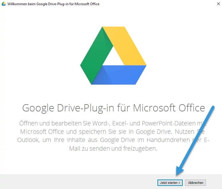 Google Drive in Ofiice