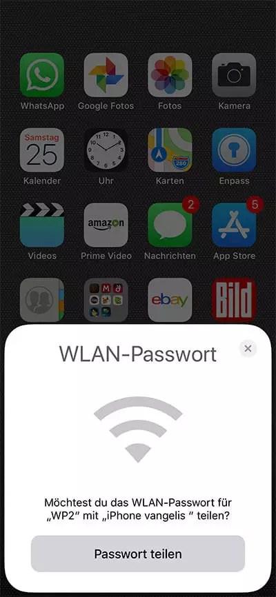 WLAN-Passwort