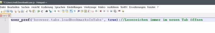 user.js-datei
