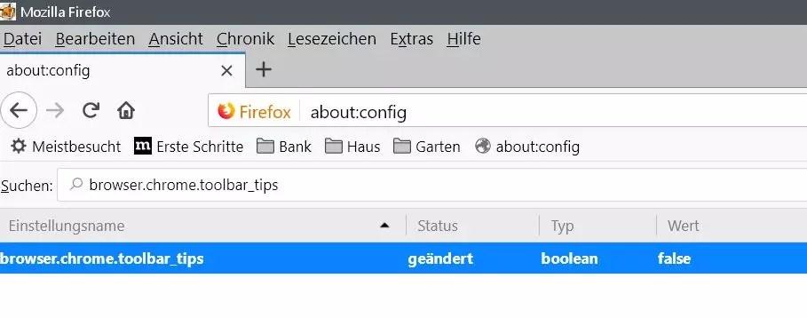 Firefox Tooltip im Rechtsklick Kontextmenü deaktivieren 4