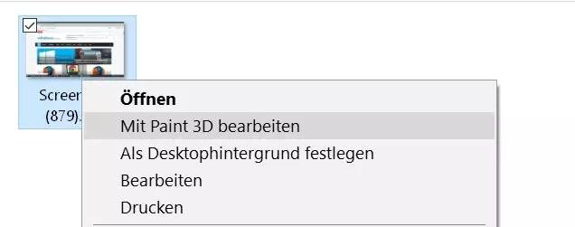 Windows 10 Paint 3D