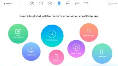 AnyTrans Dateimanager für Ihre iOS-Geräte – wir verlosen 10 Lizenzen 0