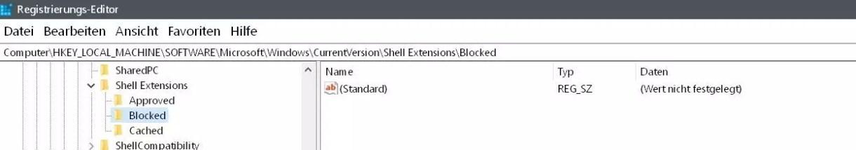 Windows 10 Vorgängerversion wiederherstellen aus dem Kontextmenü entfernen 6