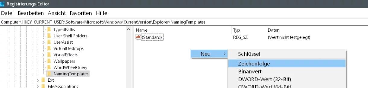"""Windows 10 Den Zusatz """"Verknüpfung"""" entfernen auf dem Desktop 7"""