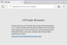 Photo of Edge Browser im InPrivate Modus starten – so geht's