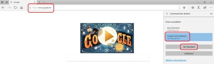 google erkannt 1