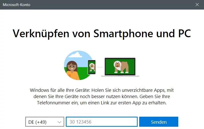 Windows 10 Telefon deaktivieren 1