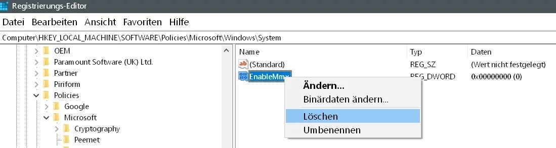 Windows 10 Telefon deaktivieren 10