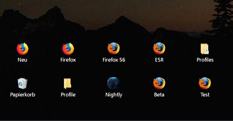 Windows 10 Abstand der Icons auf dem Desktop ändern 0