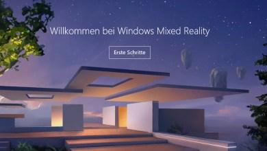 Photo of Windows 10 Mixed Reality ins Einstellungsfenster einfügen