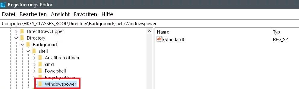 Windows 10 beliebige Webseite aus dem Desktop Kontextmenü starten 6