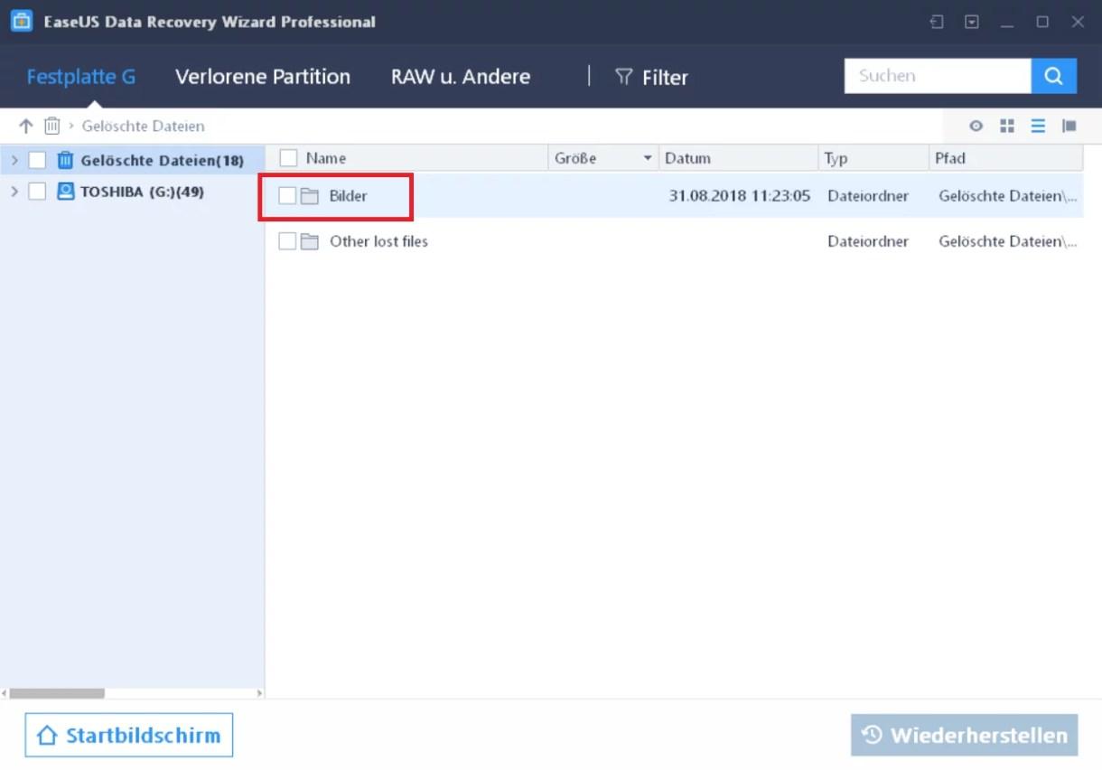 EaseUS Data Recovery Wizard 12.6 ausprobiert – Wir verlosen 5 Lizenzen 7