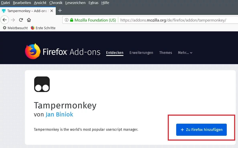 Firefox die Tab Erkennung deaktivieren 0