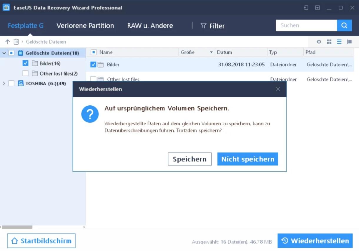 EaseUS Data Recovery Wizard 12.6 ausprobiert – Wir verlosen 5 Lizenzen 11