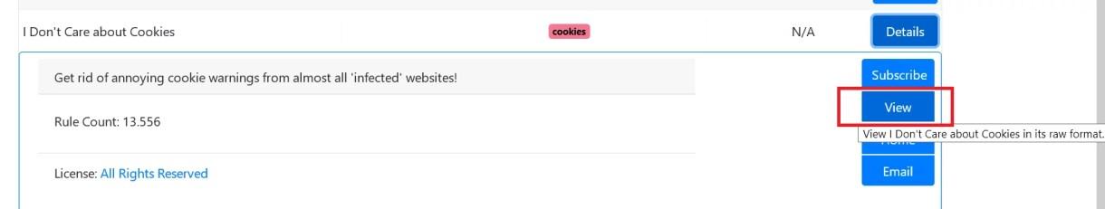 Cookie-Hinweis auf Webseiten ausblenden im Firefox 6