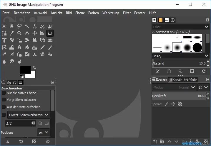 Alternativen zu Adobe Photoshop