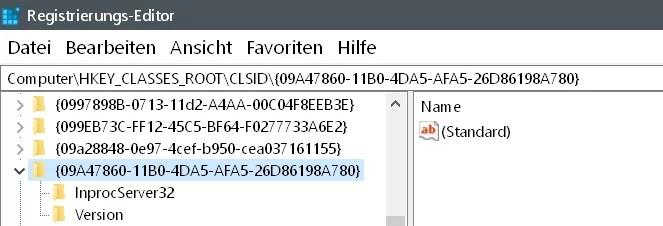 Mit Windows Defender überprüfen aus dem Kontextmenü entfernen 5