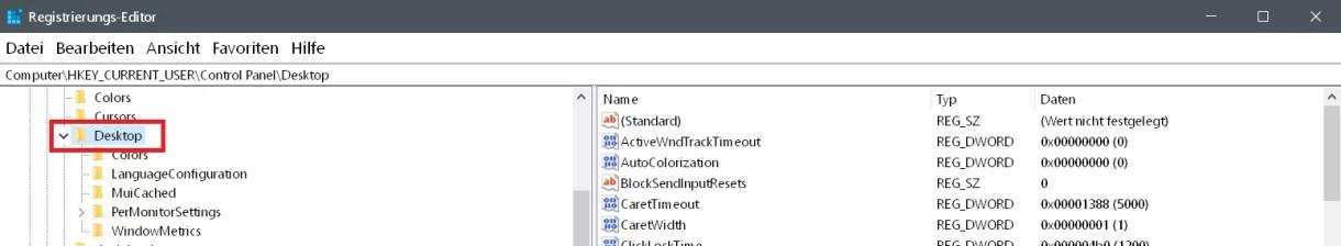 Startmenü Darstellung beschleunigen unter Windows 4