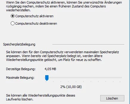 Windows 10 Computerschutz deaktivieren 0