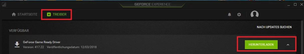 Speicherplatz freigeben nach Nvidia Update mit GeForce® Experience 1