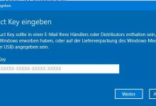 Photo of Windows 10 Lizenzschlüssel eingeben