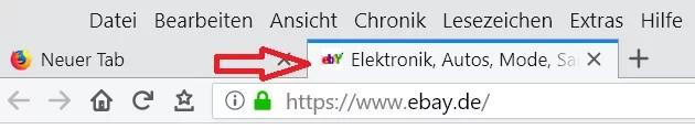 Webseitensymbol im Tab ändern im Firefox 10