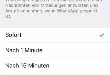 WhatsApp mit Touch-ID oder Face-ID entsperren 0
