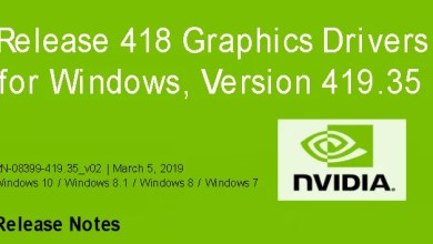 Nvidia-GeForce-Treiber Version 419.35 für Windows erschienen 0