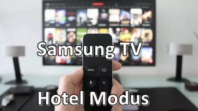 Photo of Samsung TV Hotel Modus