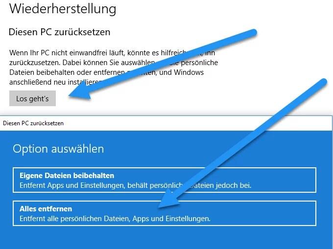 Alten Microsoft Surface zum Verkauf vorbereiten – Tipps 2