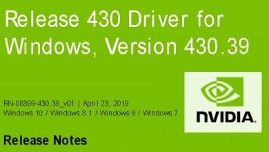 Nvidia-GeForce-Treiber Version 430.39 für Windows erschienen 0