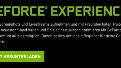 Photo of Speicherplatz freigeben nach Nvidia Update mit GeForce® Experience