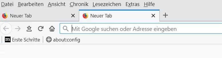 Firefox 67 – Abgerundete Tabs per CSS – Code 0