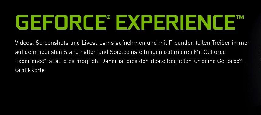 Nvidia GeForce Experience  3.19.0.107 – neue Version erschienen 1