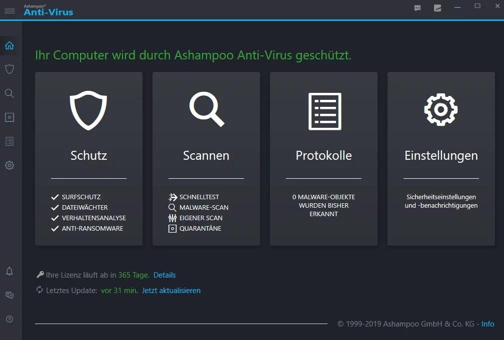 Ashampoo Anti-Virus mit Echtzeitschutz erschienen 3